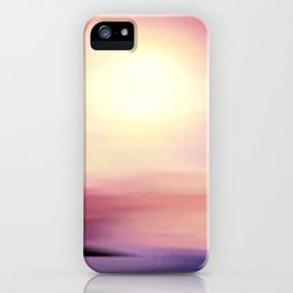 sunset in september. iPhone Case