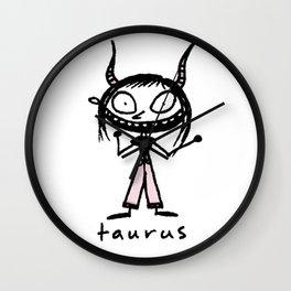 taurus. uh! Wall Clock