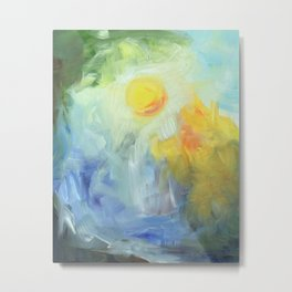 Light on the Lake Metal Print