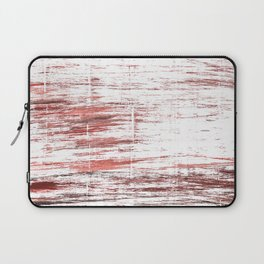 Red white watercolor Laptop Sleeve