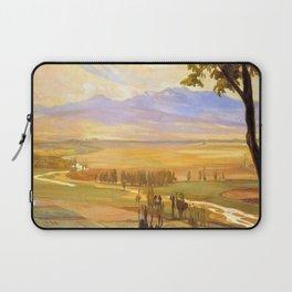 12,000pixel-500dpi - Avila Morning, The Ambles Valley - Diego Rivera Laptop Sleeve