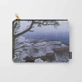 Snowy Grand Canyon Mesa Carry-All Pouch