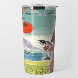 Alaska Vintage Travel Poster Travel Mug