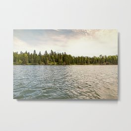 Lake Itasca - Minnesota, USA 9 Metal Print