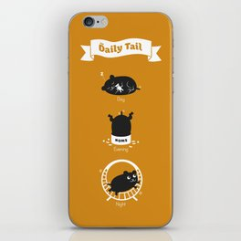 The Daily Tail Hamster iPhone Skin