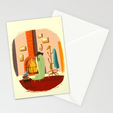 Little House Cat Stationery Cards