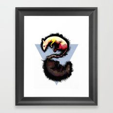 Rats. Framed Art Print