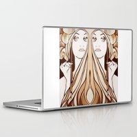mucha Laptop & iPad Skins featuring My Mucha by Little Bunny Sunshine
