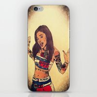 aaliyah iPhone & iPod Skins featuring One In A Million by Artistic