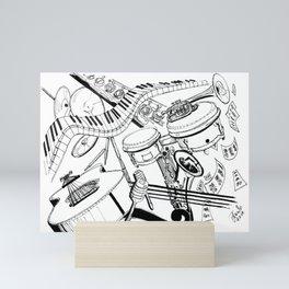 One More Time Mini Art Print