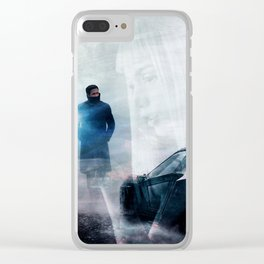 2049 Clear iPhone Case