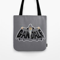 gandalf Tote Bags featuring Gandalf by Buby87