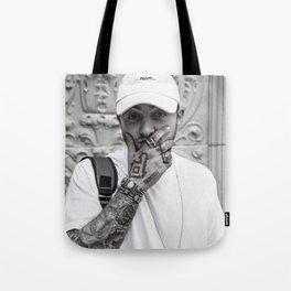 mac miller black and white Tote Bag