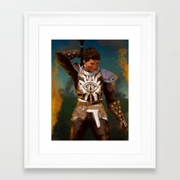 dragon age inquisition Framed Art Prints featuring Cassandra Pentaghast, Dragon Age: Inquisition by Paiveus