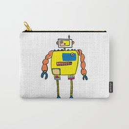 Classic Mr. Orange Super Robot Carry-All Pouch