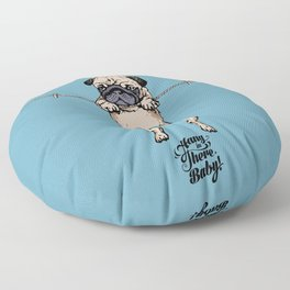 Hang in There Baby Floor Pillow