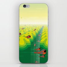 SF SolarBugs iPhone & iPod Skin