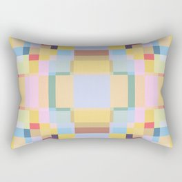 Retro Taniwha Rectangular Pillow