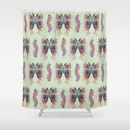 Saturnia divum orbis Shower Curtain