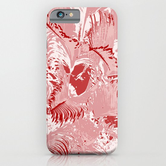 The red mask iPhone & iPod Case