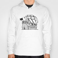 pirate ship Hoodies featuring Pirate Ship by Addison Karl