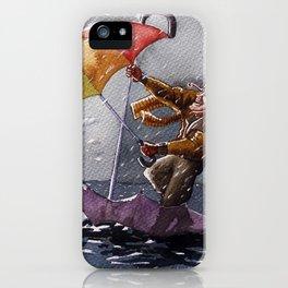 Umbrella Man iPhone Case