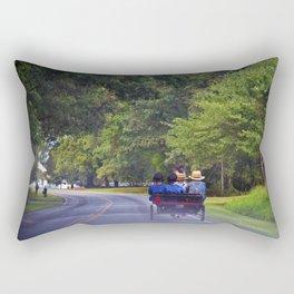 Slow Traffic Rectangular Pillow