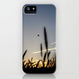 Morning Flight iPhone Case