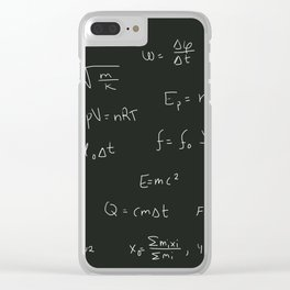 Physics Clear iPhone Case