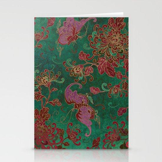 Chrysanthemum Garden Stationery Cards