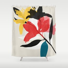 lily 23 Shower Curtain