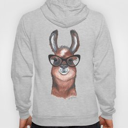 Hipster Llama Hoody