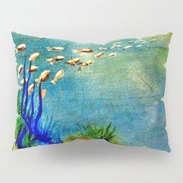 Fish Swarm Pillow Sham