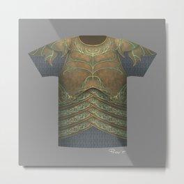 Armor Series: Elven Plate Metal Print