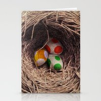 yoshi Stationery Cards featuring Yoshi Eggs by Eric Fan