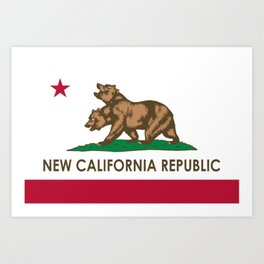 New California Republic Art Print