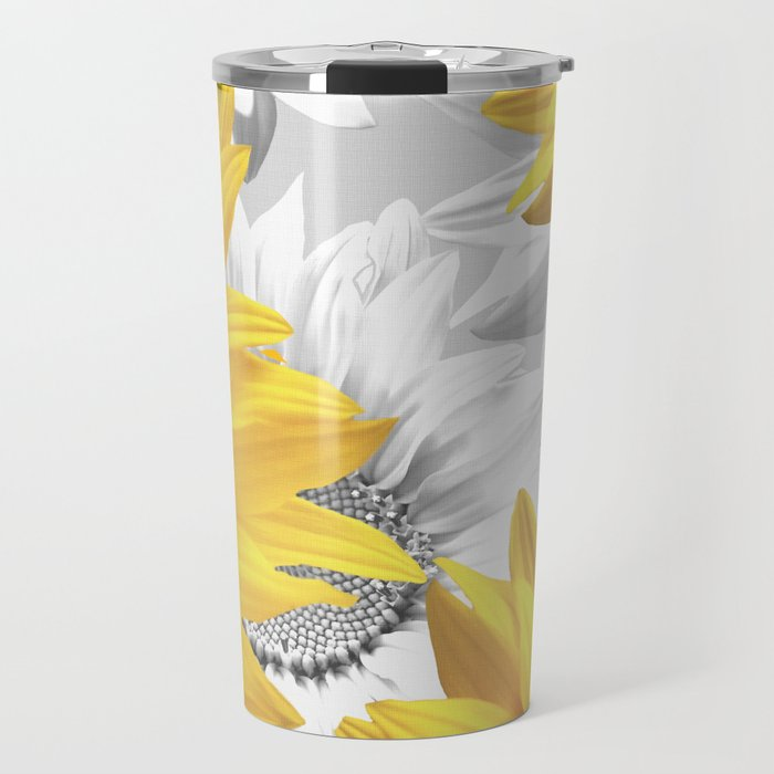 Sunflower Bouquet #decor #society6 #buyart Travel Mug