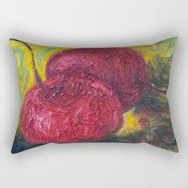 Maraschino Cherries Rectangular Pillow