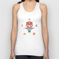 super mario Tank Tops featuring Super Mario by Richard Howard
