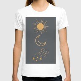 Sun, Moon and Stars T-shirt
