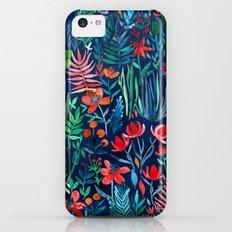 Tropical Ink - a watercolor garden iPhone 5c Slim Case