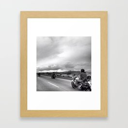 Desert Ride, Nevada Framed Art Print