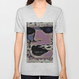 Black Lips Bats Unisex V-Neck
