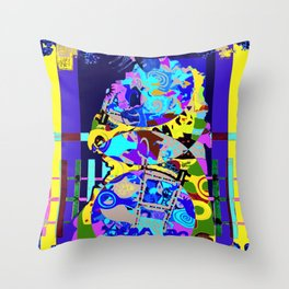 kunisada new Throw Pillow