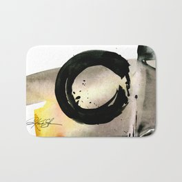 Enso Abstraction No. 105 by Kathy morton Stanion Bath Mat