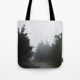 Misty Mysterious Tote Bag