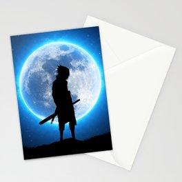 Sasuke uchiha blue moon Stationery Cards
