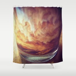 Coffee with Cream Shower Curtain