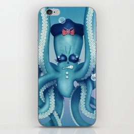 Octopus Dilemma iPhone Skin