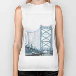 The Ben Franklin Bridge Biker Tank